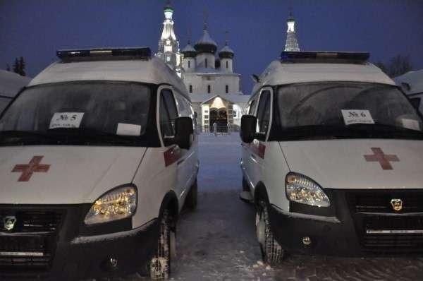 7. Ярославская область получила 13 машин скорой помощи Сделано у нас, политика, факты