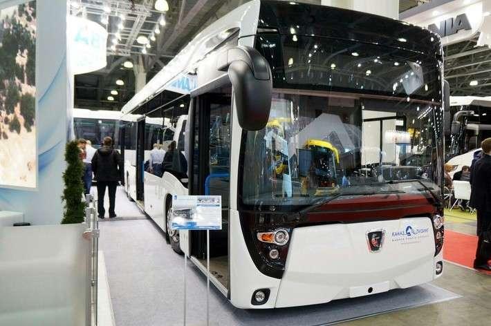 Электробус КАМАЗ признан лучшим среди российских автобусов