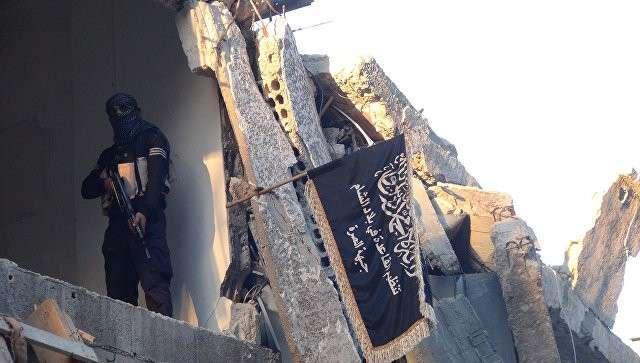Боевик террористической группировки Джебхат ан-Нусра в Сирии. Архивное фото