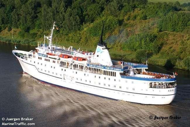 Начаты регулярные международные морские пассажирские рейсы из Крыма