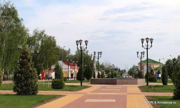 Грайворон - один из самых чистых городков в глухой провинции России