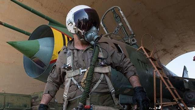 Летчик ВВС сирийской армии. Архивное фото