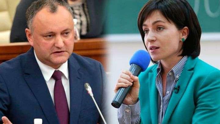 Решающая схватка за пост президента Молдовы: пророссийский Игорь Додон против прозападной Майи Санду
