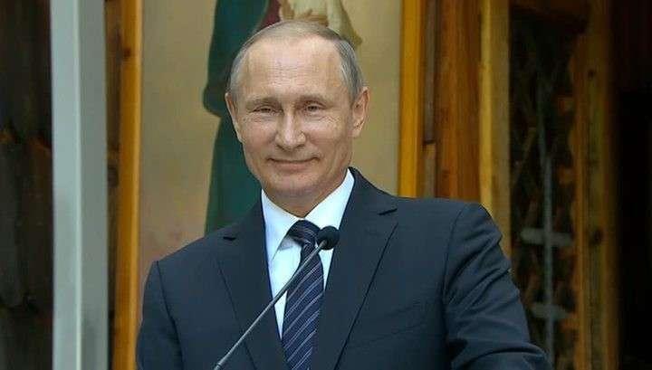 «Женился, развёлся, счастлив»: Владимир Путин пошутил на юбилее КВН