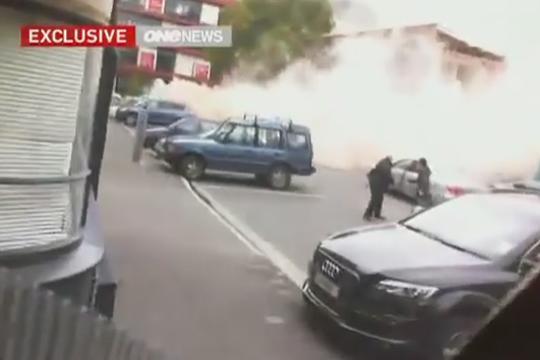 Появились видеокадры мощного землетрясения и цунами в Новой Зеландии