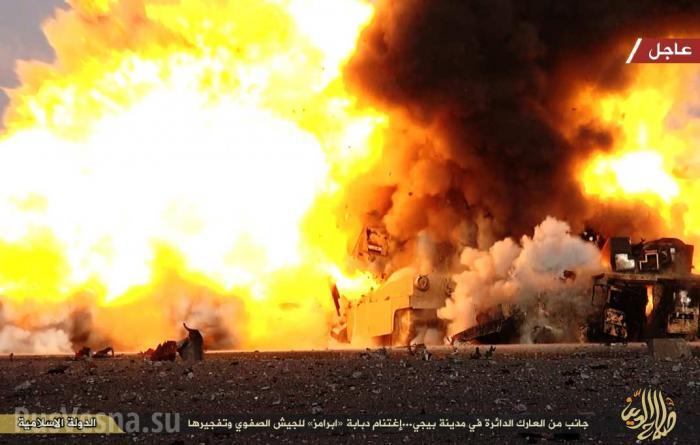 3 американских танка и 2 «Хаммера» ВС Турции и Ирака уничтожены советскими ракетами в Алеппо и Мосуле
