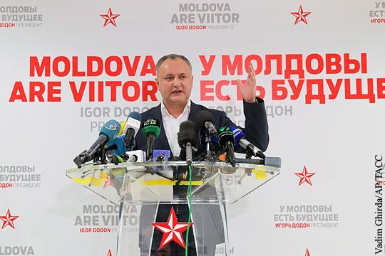 Победа пророссийского кандидата Игоря Додона на выборах расколола Молдавию