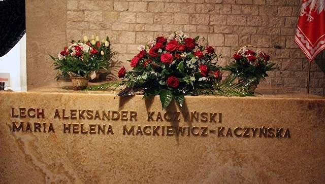 Место захоронения погибшего в авиакатастрофе под Смоленском президента Польши Леха Качиньского - Краков, замок на Вавеле. Архивное фото