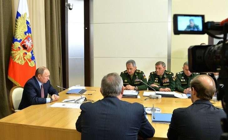 Совещание сруководящим составом Министерства обороны России, федеральных ведомств ипредприятий ОПК.