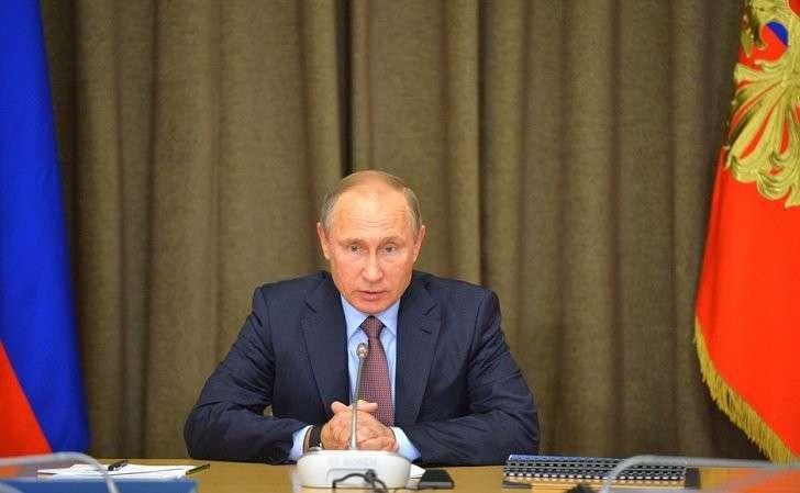 Насовещании сруководящим составом Министерства обороны России, федеральных ведомств ипредприятий ОПК.