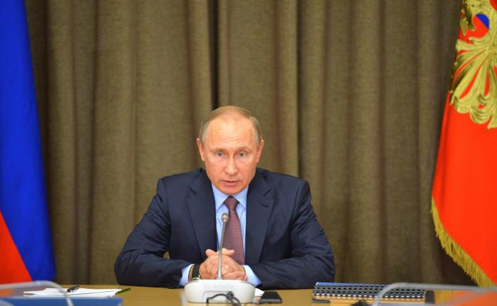 Совещание Президента Путина с руководством Минобороны и представителями ВПК