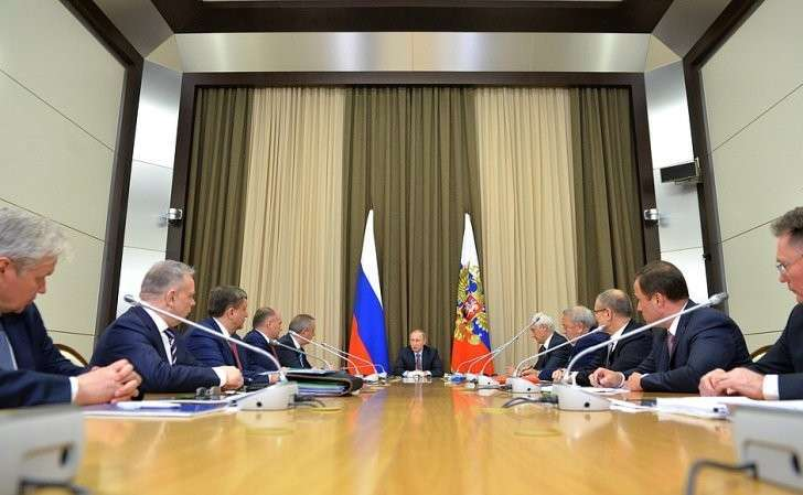 Совещание остратегии развития Государственной корпорации покосмической деятельности «Роскосмос».