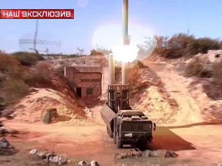 Ракеты комплексов «Бастиона» атакуют террористов в Сирии