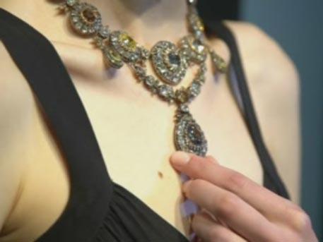 Бриллиантовое ожерелье Екатерины I выставят на аукцион Sotheby's в Женеве