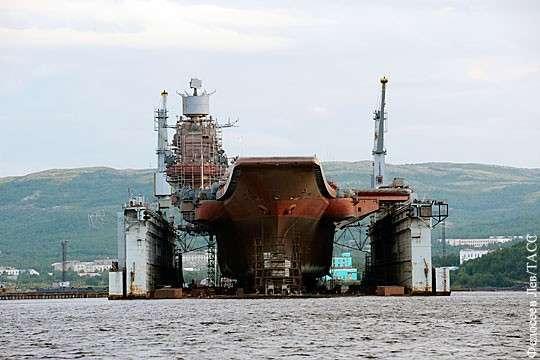 Почему дымит Адмирал Кузнецов: авианесущий крейсер нуждается в тотальной модернизации
