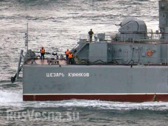 Сирийский экспресс: 5 больших десантных кораблей ВМФ России прошли через Босфор и Гибралтар | Русская весна