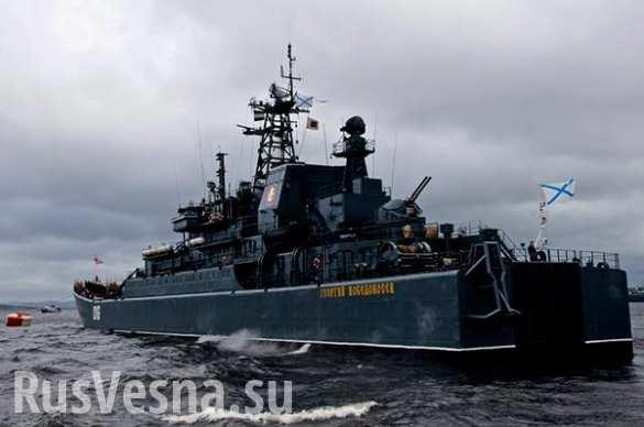 Сирийский экспресс: 5 больших десантных кораблей ВМФ России прошли через Босфор и Гибралтар