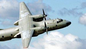 Транспортный Ан-26 сбит на востоке Украины, заявили очевидцы