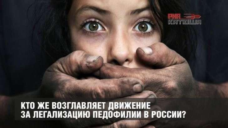 Кто в Госдуме возглавляет движение за легализацию педофилии в России?