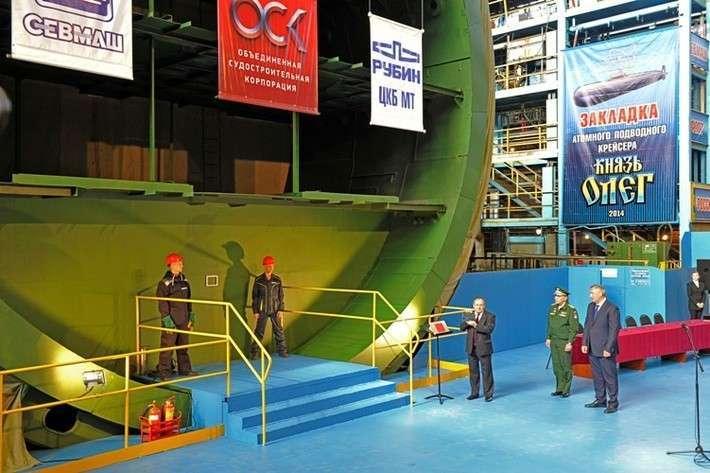 8. На первом серийном подводном ракетоносце нового поколения завершились гидравлические испытания Сделано у нас, политика, факты