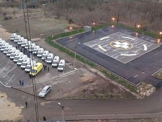 17. В Волгограде открылась вертолетная площадка больницы №25 Сделано у нас, политика, факты