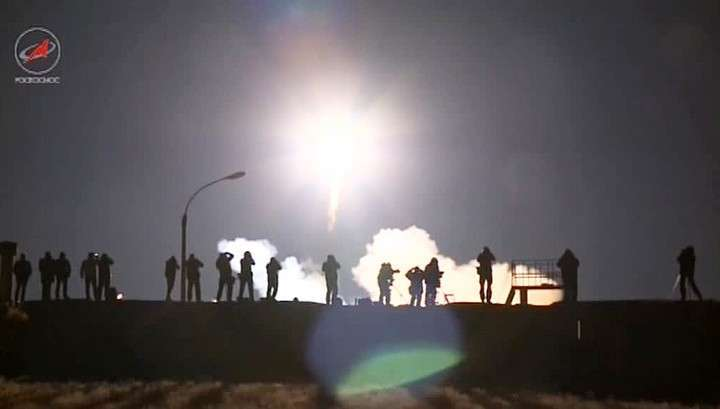 Космический корабль счленами 51-й экспедиции наМКС вышел наорбиту