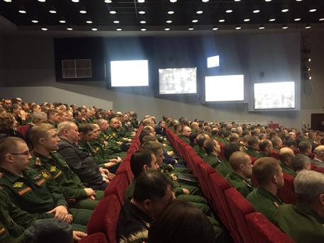 Замминистра обороны Панков открыл второй сезон проекта «Социальные среды» в академии РВСН