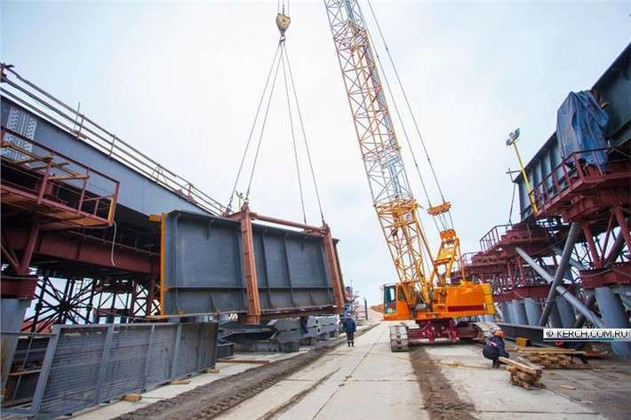 Очень хорошие новости строительства Крымского моста