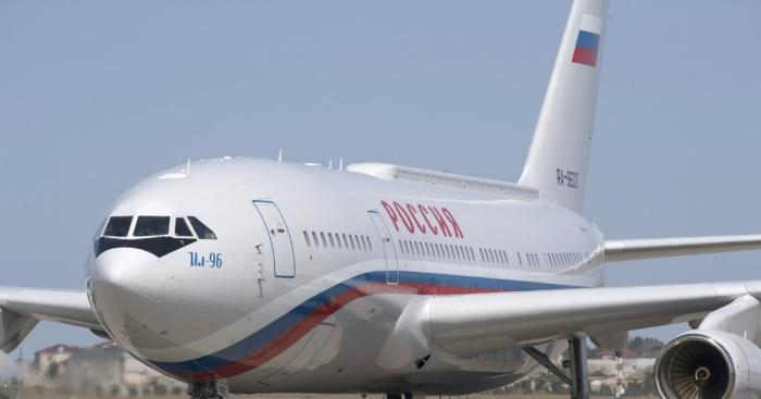 Самолёт президента России Владимира Путина приземлился в аэропорту Лимы
