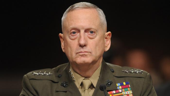 Министром обороны США может стать генерал Джеймс Мэттис