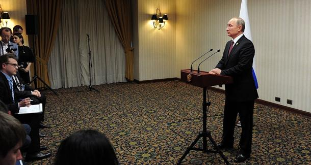 Полная пресс-конференция Владимира Путина по итогам саммита АТЭС в Лиме