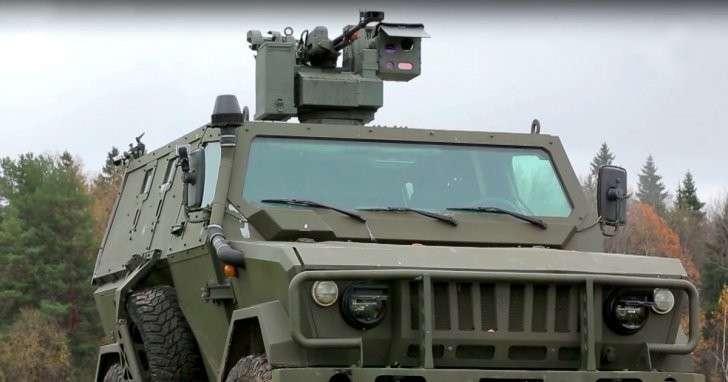 Бронеавтомобиль «Скорпион» принят на вооружение армии России