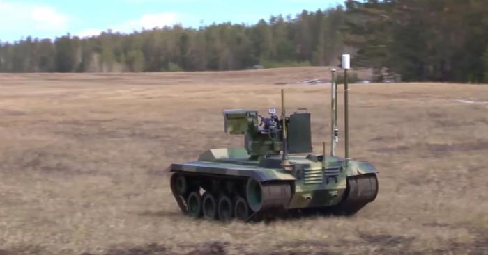 Испытание роботизированной системы охраны пусковых установок в РВСН