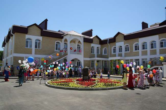 В Карачаево-Черкесии открыт современный детский сад на 250 мест