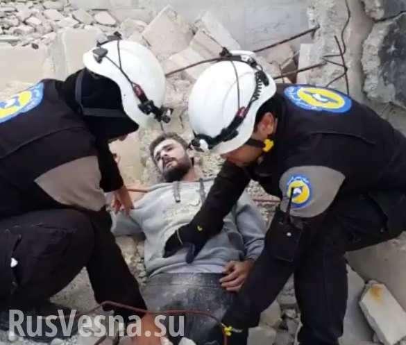 Шокирующие кадры: «Оживший мертвец» после авиаудара вСирии взрывает Сеть (ВИДЕО) | Русская весна