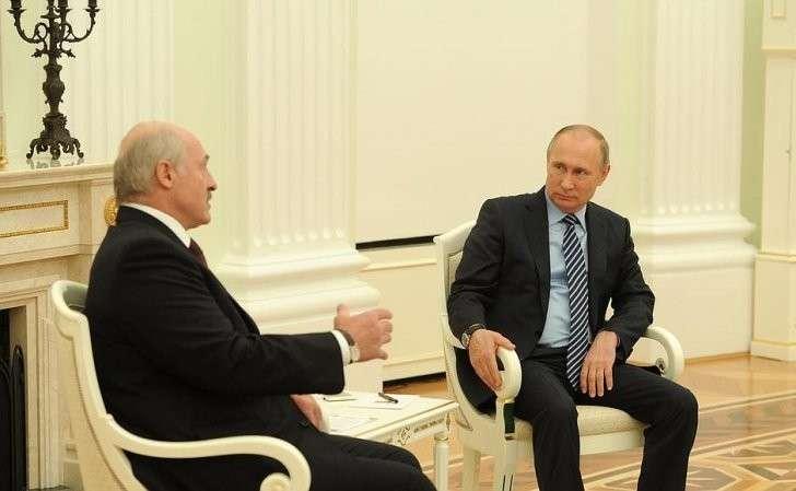 Встреча сПрезидентом Белоруссии Александром Лукашенко.