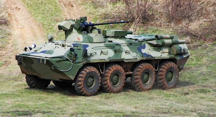 11. Формируемая на Урале танковая дивизия получила 50 бронетранспортеров БТР-82А Сделано у нас, политика, факты