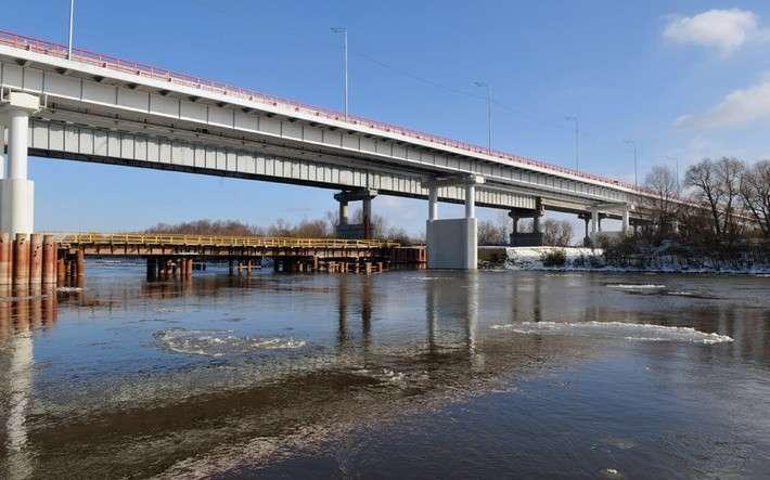 29. В Тюменской области открыли мост через реку Тобол Сделано у нас, политика, факты