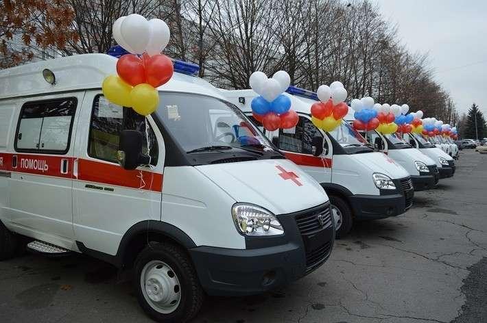 2. В Северную Осетию поступили 8 машин скорой помощи Сделано у нас, политика, факты