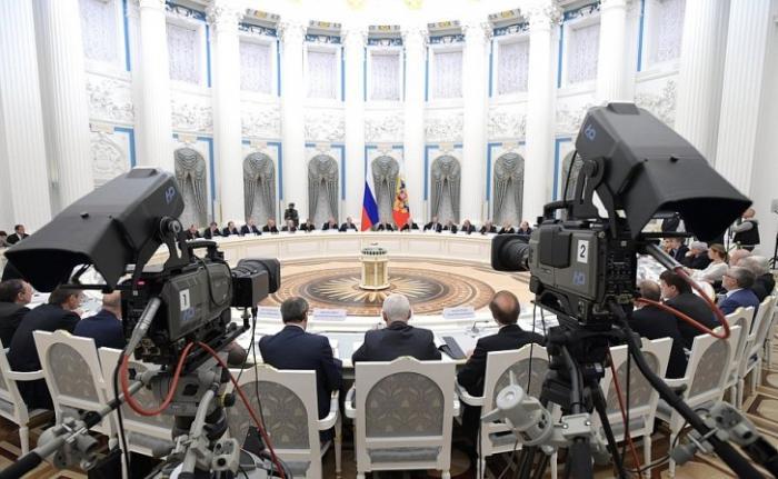 Заседание Совета при Президенте России по науке и образованию