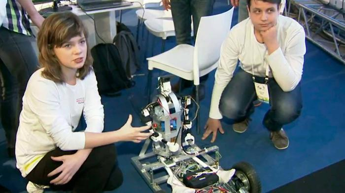 Изобретения российских школьников привлекли внимание ученых и промышленников
