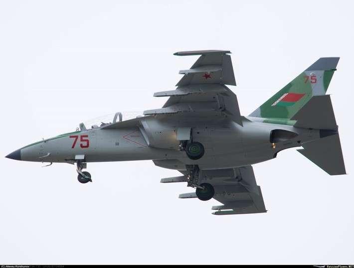 Завершена поставка второй партии Як-130 для белорусской армии