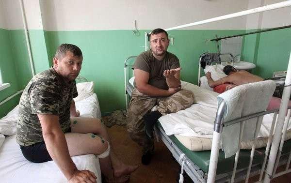 Раненые украинские военнослужащие рассказали, как переходили российско-украинскую границу