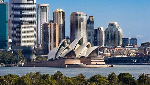Город Сидней, Австралия. Архивное фото