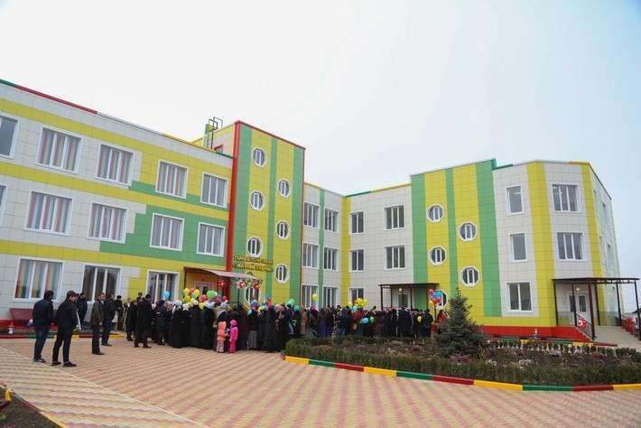 1. В Ингушетии открыт детский сад  Сделано у нас, политика, факты