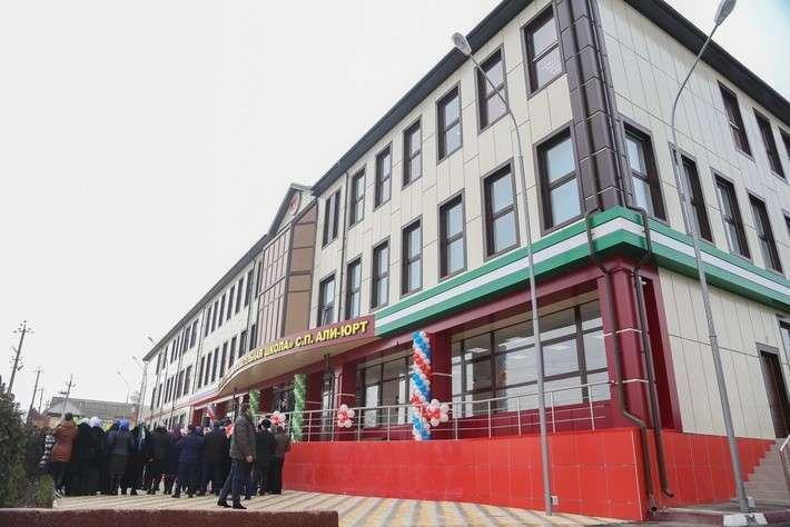 2. В Ингушетии открыта школа  Сделано у нас, политика, факты