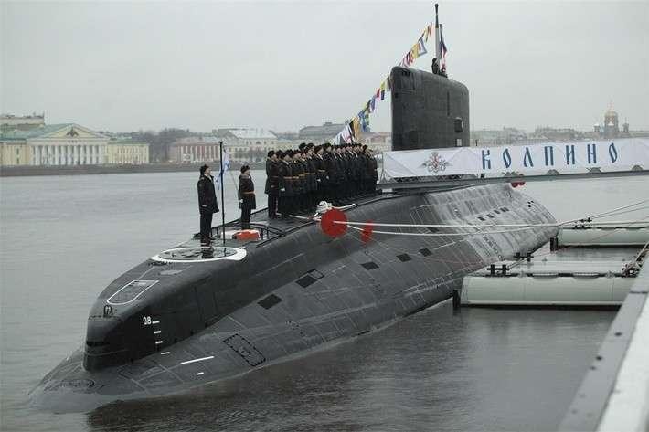 6. Подводная лодка «Колпино» передана ВМФ России Сделано у нас, политика, факты