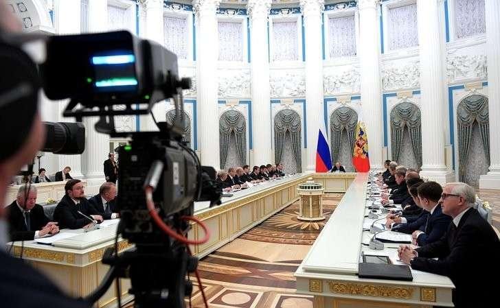 Заседание Совета постратегическому развитию иприоритетным проектам.