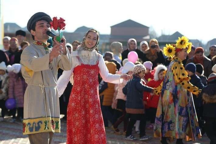 Новый детский сад открыли в ингушском селе Экажево Назрановского района