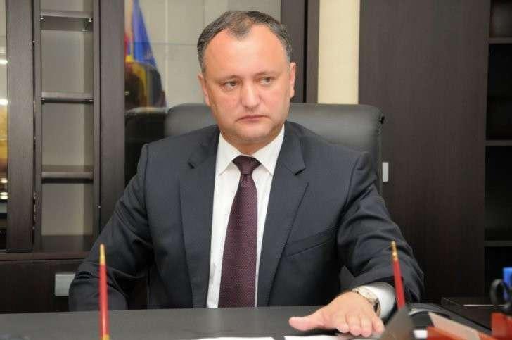 Игорь Додон заявил о продолжении процесса ассоциации Молдавии и ЕС